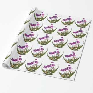 Amelie Wrapping Paper
