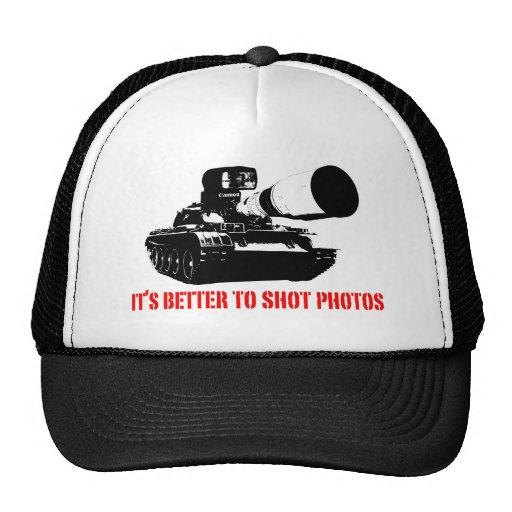 Améliorez aux photos de tir casquettes de camionneur