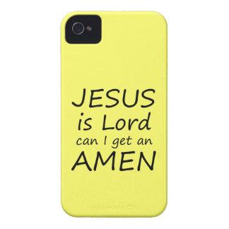 Amen Jesus Case iPhone 4 Cases