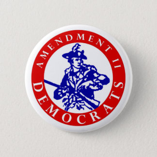 "Amendment II Democrats Logo 2.25"" Button"