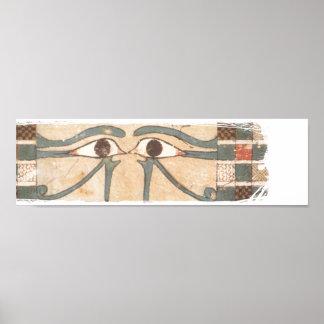 Amenhotep inner coffin blk poster