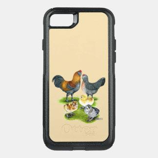 Ameraucana Chicken Family OtterBox Commuter iPhone 8/7 Case