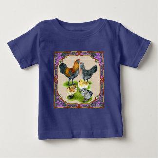 Ameraucana Family Framed Baby T-Shirt