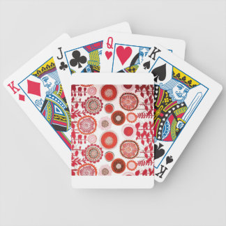 Amercan motifs bicycle playing cards