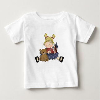 Amerciana Beauty 1 Baby T-Shirt