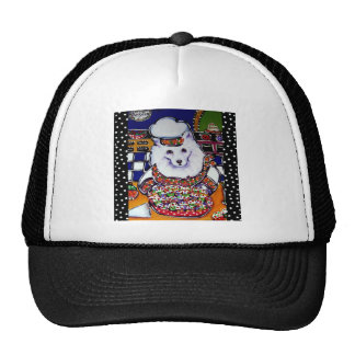 Amerian Eskimo Dog Chef Trucker Hat
