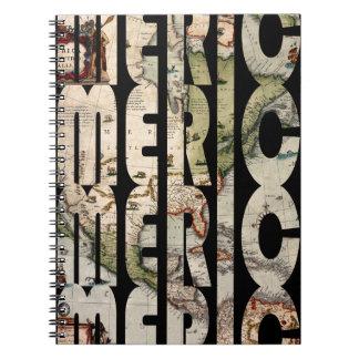 america1610 spiral notebook