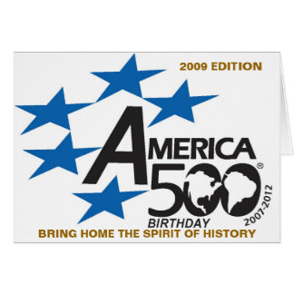 America500 Birthday  2009 Edition Bring Home The S Card