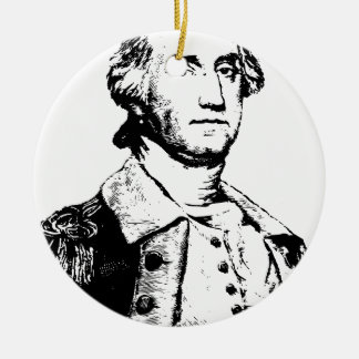 america-1297829 round ceramic ornament