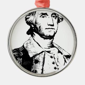america-1297829 Silver-Colored round ornament