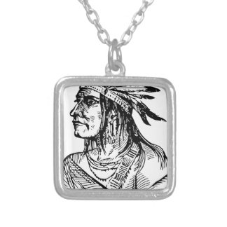 america-1299444 silver plated necklace