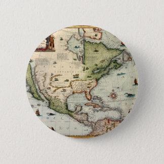 America 1610 2 inch round button