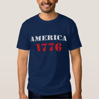America 1776 t shirts