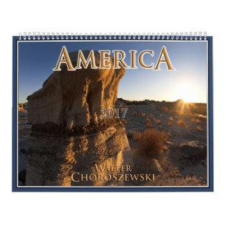 AMERICA 2017 | Walter Choroszewski Calendars