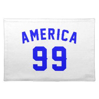 America 99  Birthday Designs Placemat