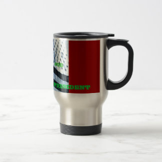 AMERICA, A CUP OF JOE, BIDEN FOR VICE PRESIDENT 15 OZ STAINLESS STEEL TRAVEL MUG