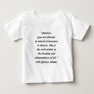 America Abroad - John Q Adams Baby T-Shirt