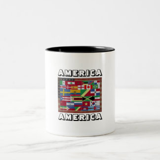 AMERICA AMERICA Coffee Mug