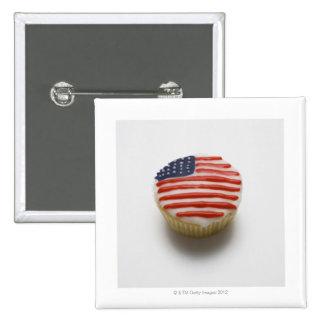 America, american, stars and stripes, fairy 2 inch square button