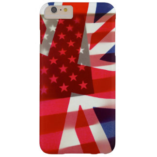 America and Britain flags Barely There iPhone 6 Plus Case