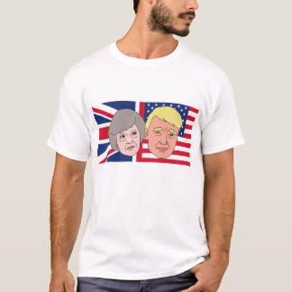 America and Britain Theresa and Trump T-Shirt