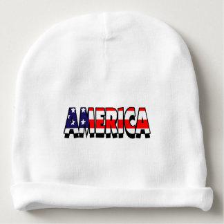 America! Baby BEANNIE HAT Baby Beanie