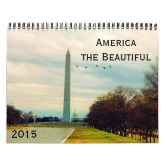 america beautiful 2015 wall calendar