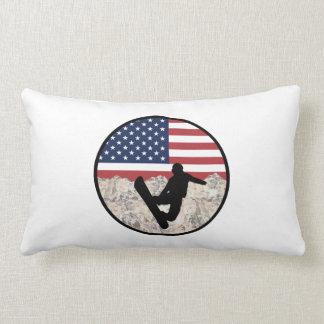 America Boarders Lumbar Pillow
