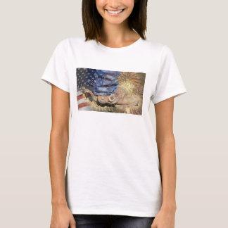America - Boots & Fireworks T-Shirt