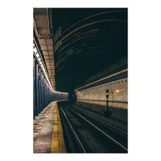 America City Manhattan Metro Ny Nyc New York Stationery