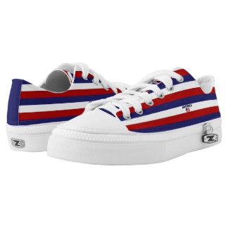 America Colors Flag Designer Modern Shoes Men Lady