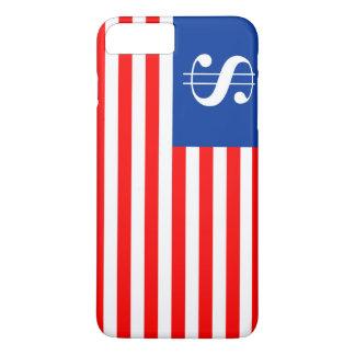 america country dollar symbol flag united states u Case-Mate iPhone case