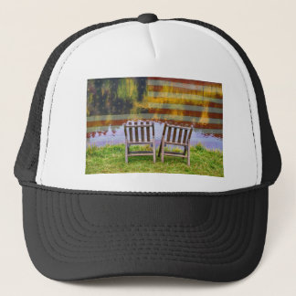America Day Dreaming For Two Trucker Hat