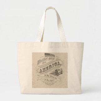 America drive tote bag