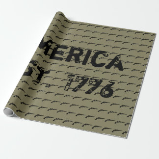 America EST. 1776 Wrapping Paper