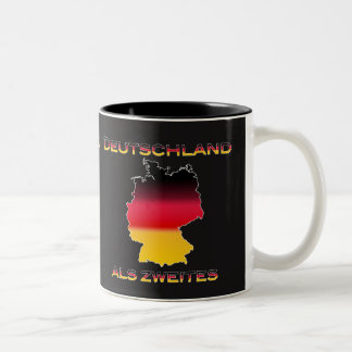 America First, Germany Second Two-Tone Coffee Mug