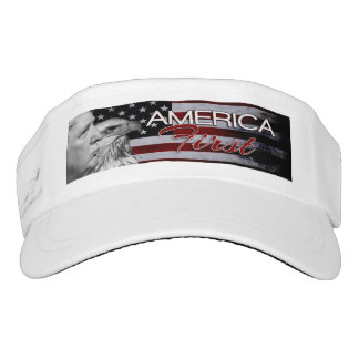 AMERICA FIRST SLOGAN DONALD TRUMP2016 VISOR