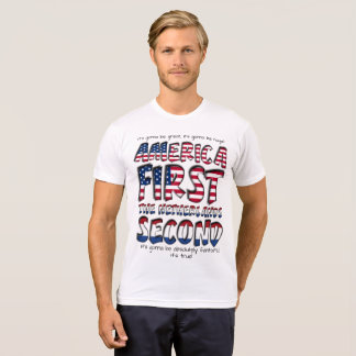 America First The Netherlands Second Fantastic! T-Shirt