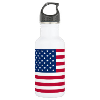 America flag American USA 532 Ml Water Bottle