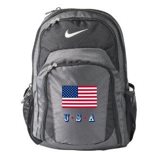 America flag American USA Backpack