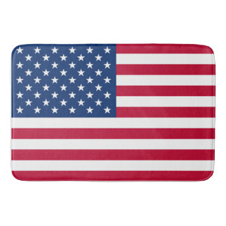 America flag American USA Bath Mat