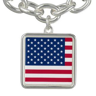 America flag American USA Bracelet
