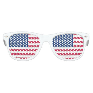 America flag American USA Kids Sunglasses