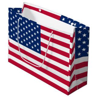 America flag American USA Large Gift Bag