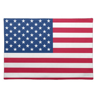 America flag American USA Placemat