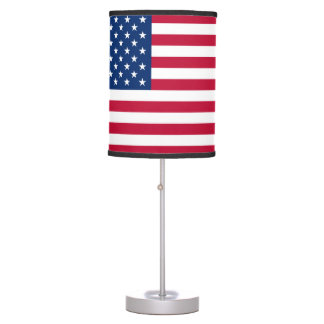 America flag American USA Table Lamp