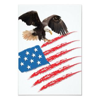 America Flag Card