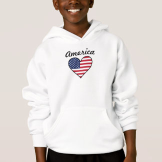 America Flag Heart