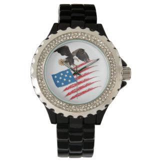 America Flag Wristwatches