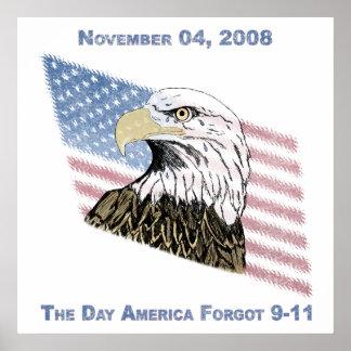 America Forgot 9-11 Poster